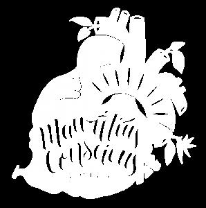 Mauritius Conscious Logo - Negative