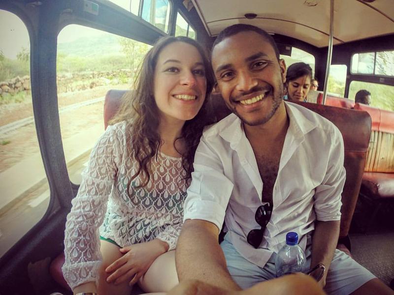 Founders of Mauritius Conscious: Romina Tello & Gerald Ami