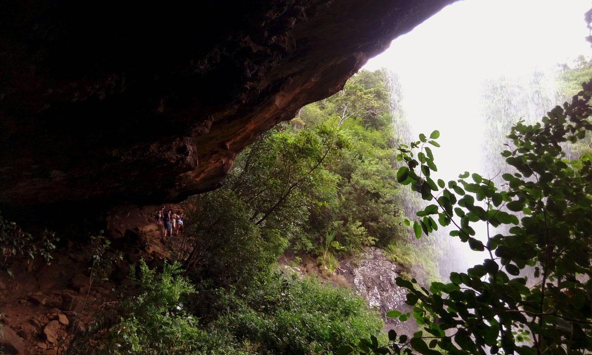 Hiking 7 cascades, Mauritius