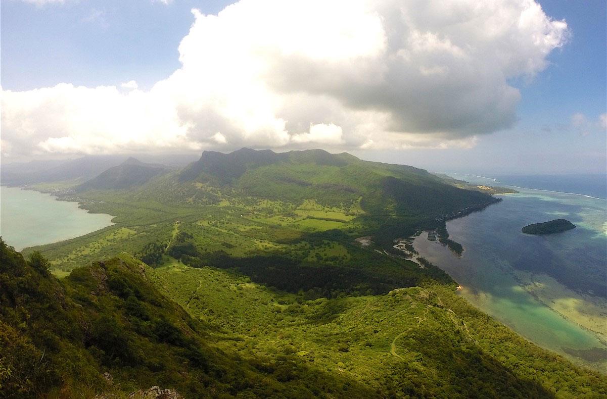 Le Morne Mountain, Mauritius