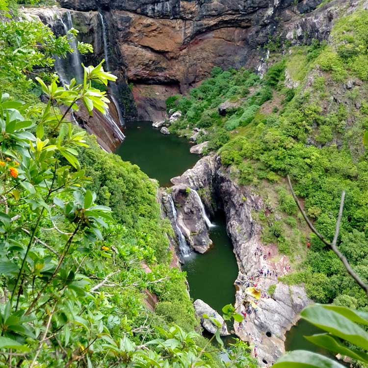 Hike to the 7 Cascades, Mauritius