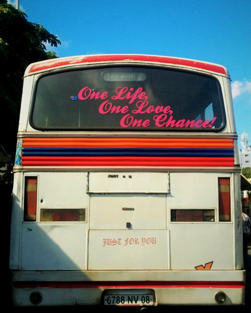 Mauritian bus