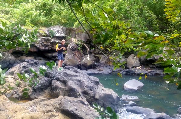 river trekking in grse