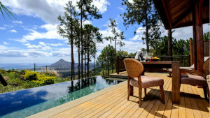 Sea-View Pool Suite at Lakaz Chamarel Exclusive Lodge