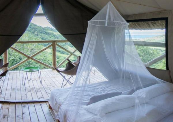 Private tent at Otentic Eco-Lodge
