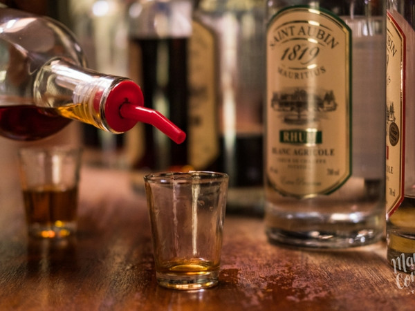 Agricultural rum tasting