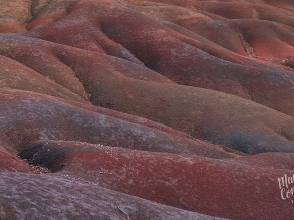 Chamarel's Seven Colored Earth