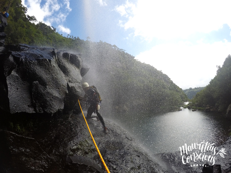 Canyoning in Mauritius