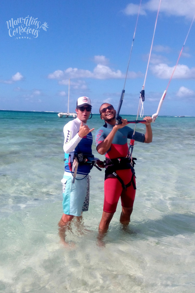 Kitesurf Pointe d'Esny, Mauritius Conscious