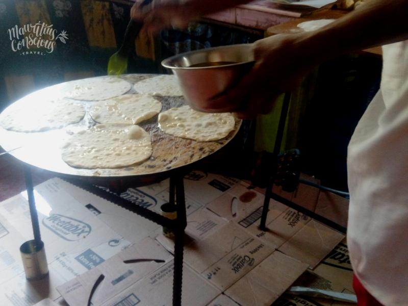 roti making mauritius