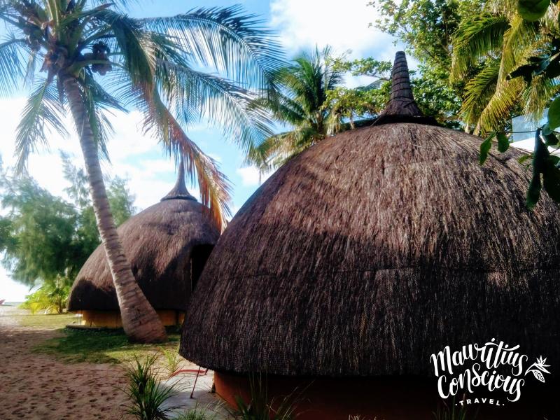 Beach bungalows Mauritius