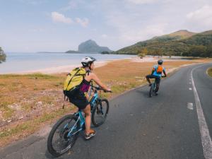 e-biking to Le Morne Unesco Heritage site