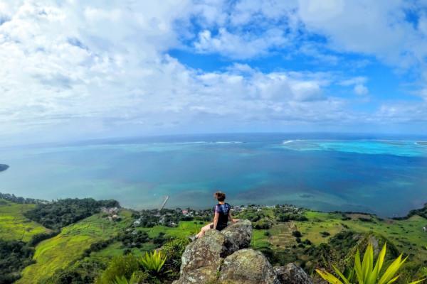 hiking mauritius - solo female traveler