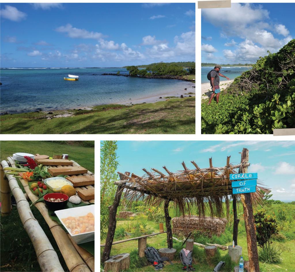 Sustainable agriculture, permaculture, mauritius coastal trek